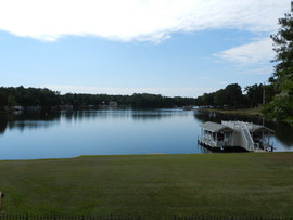 Lake View from Outside Deck