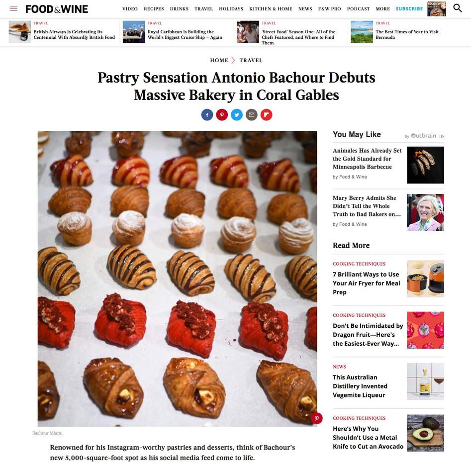 Pastry Sensation Antonio Bachour Debuts Massive Bakery in Coral Gables