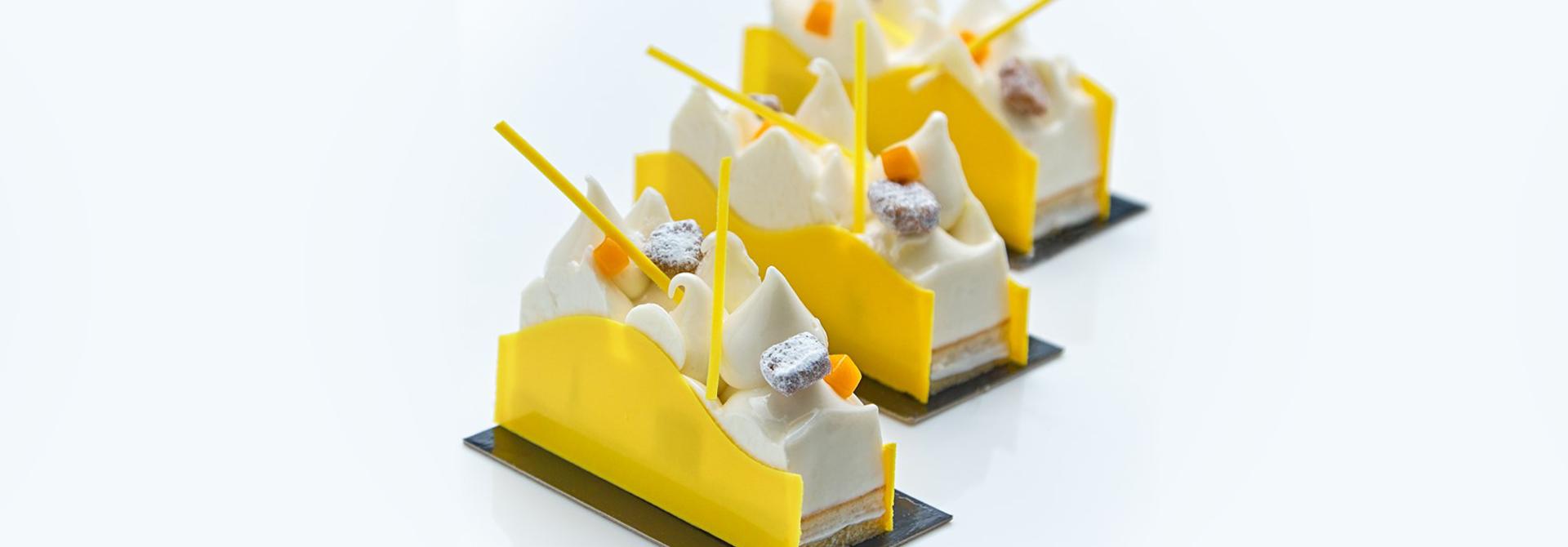 Lemon Almond Petit Gateaux