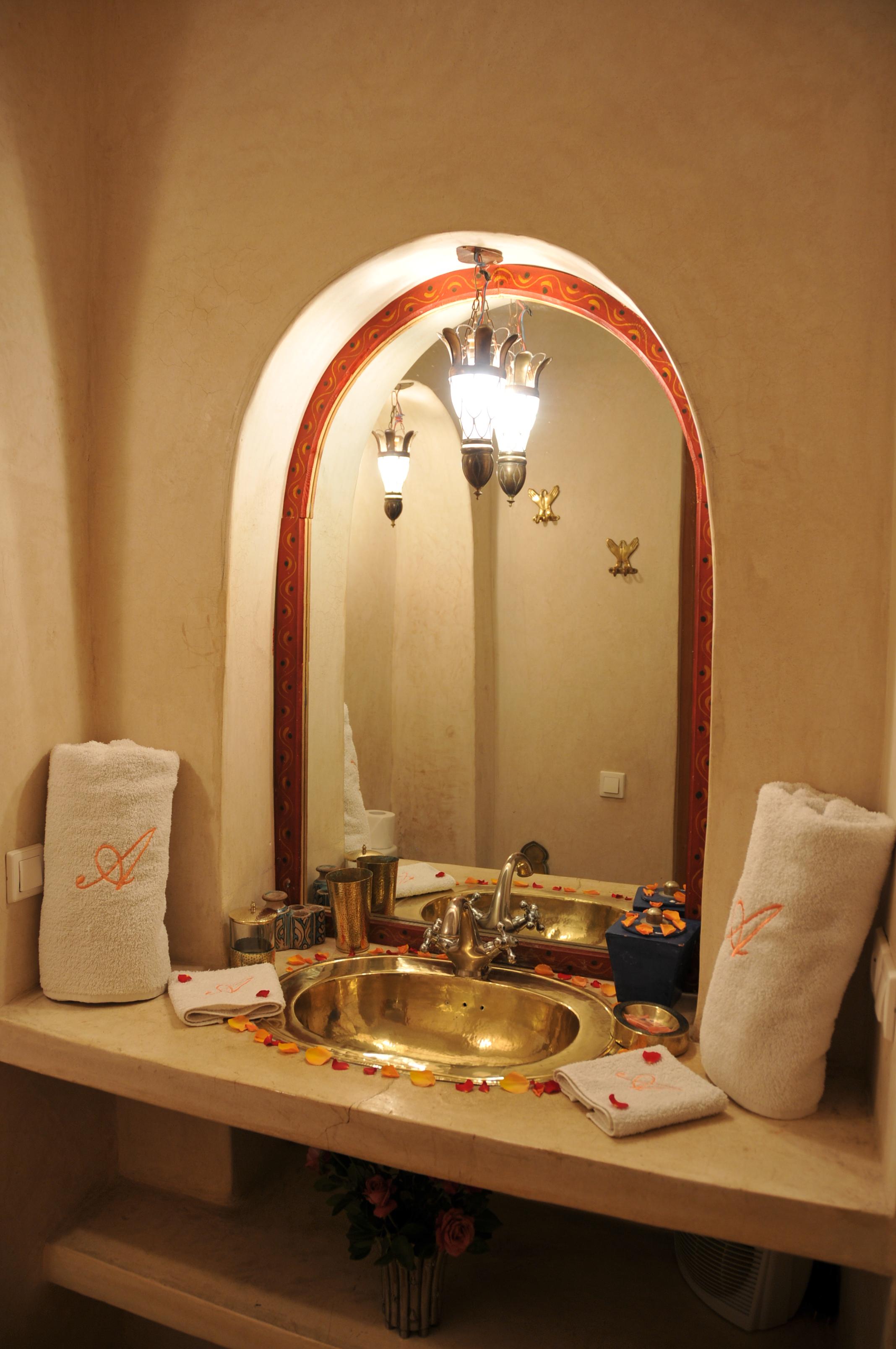 salle de bain indigo