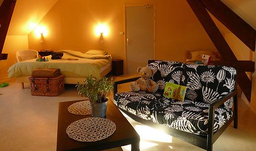 résidence de vaca enfant animation club vacance résidence maison famille familal sécurité ferme du chateau monampteuil laon soissonsces hebergement chambre