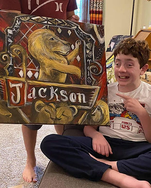 Jackson lost his life fighting cancer in October 2020. JK Rowling helped us with donating gifts