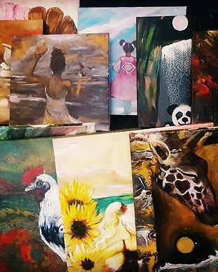 319 paintings in less than two years, all at no cost to our Warriors, donate, keep this gift free