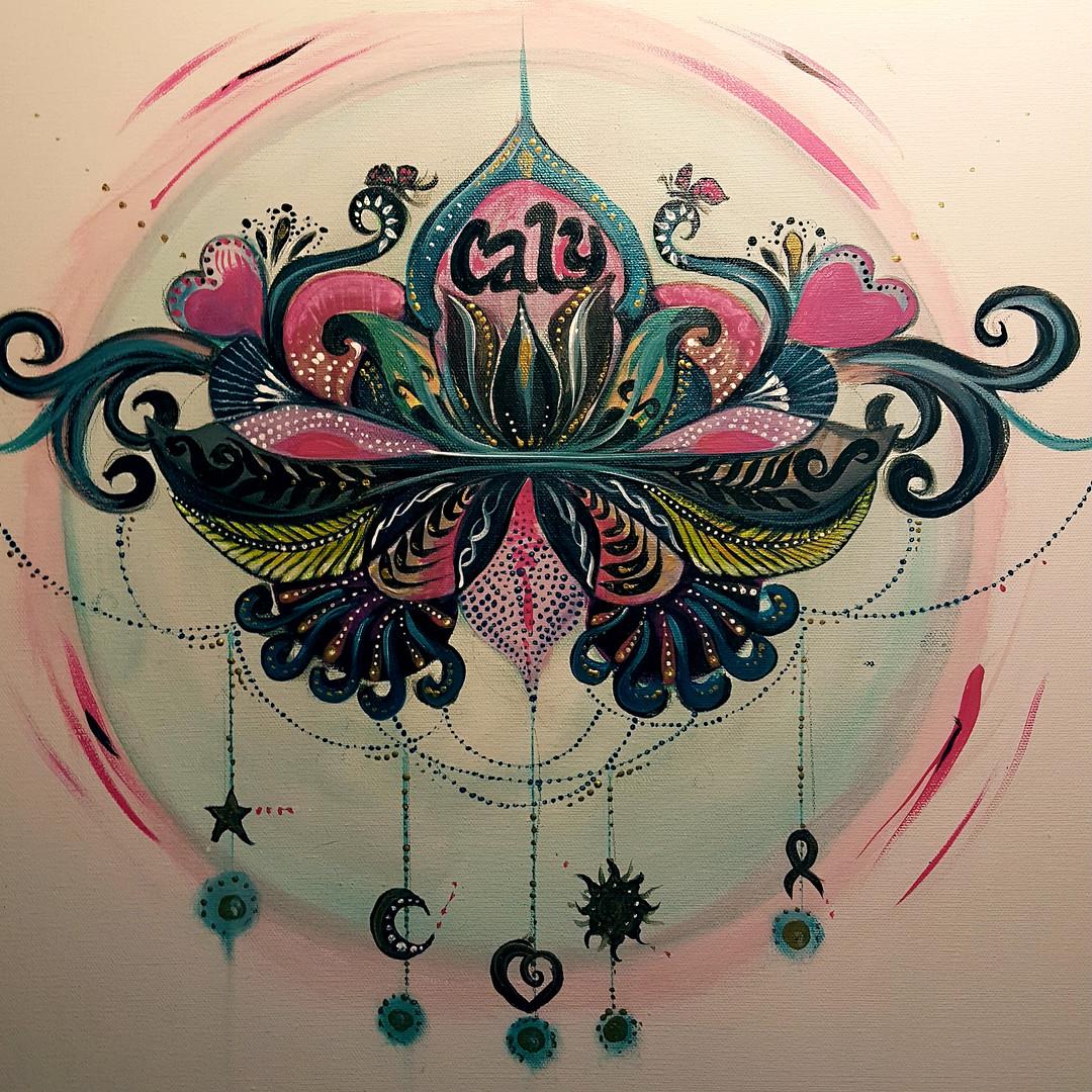 Caly's Mandala Lotus