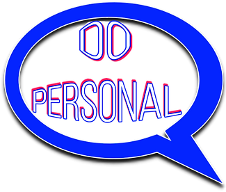 A speech bubble contains the words 'Do Personal'