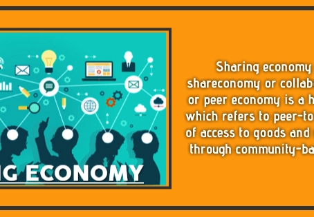Sharing Economy : Why Should You be a Part of It.