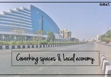Why is coworking spaces important for the local economy?
