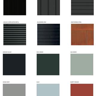 Materials + Colors