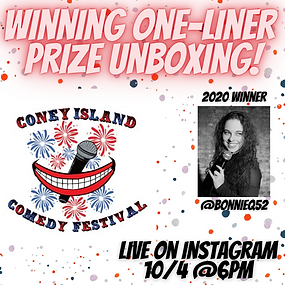 ConeyIslandComedy Unboxing Insta Live.pn