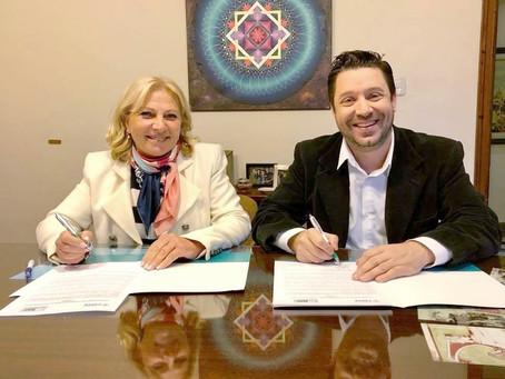 CIMMAR y Universidad CAECE firman convenio de cooperación.