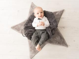 Une séance bébé tout en douceur avec Jad... 5 mois...