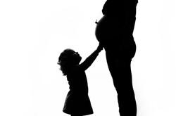 Maelou   grossesse, enfant