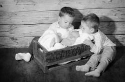 Maelou | nouveau-né, enfants, frères