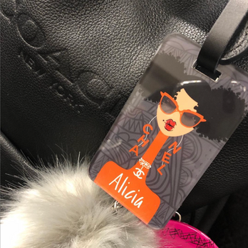 Click here to see our collection of luggage tags