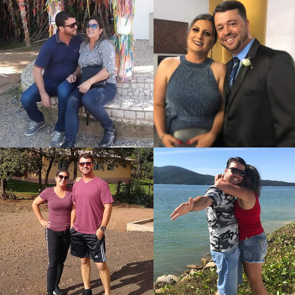 Muita festa para Jaci H. Martins e a esposa, Pâmela Bernardo, querido casal que está comemorando 23 anos de uma maravilhosa união.