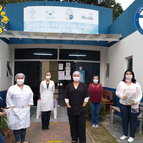 Lions Club, de Palhoça, trabalhando em conjunto com a saúde do município