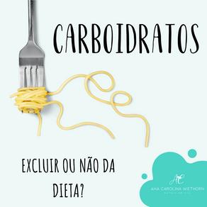 CARBOIDRATOS, EXCLUIR OU NÃO DA DIETA?