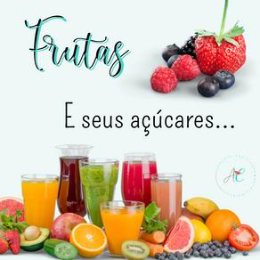 Frutas e seus açúcares