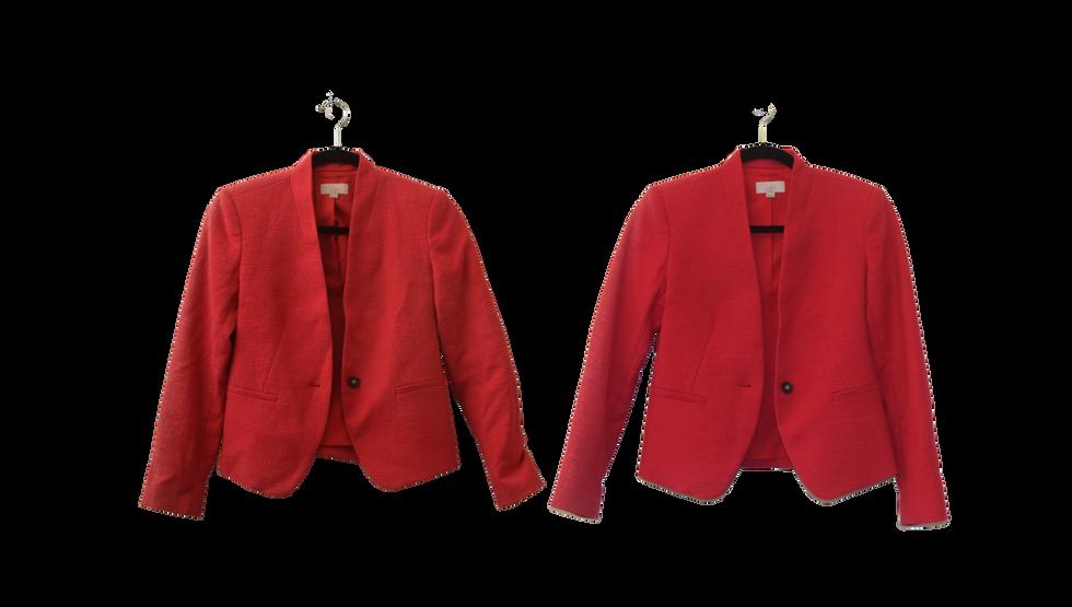 Red Blazer - Front
