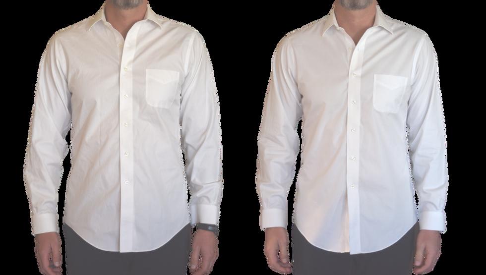 Wrinkle-Free White Shirt