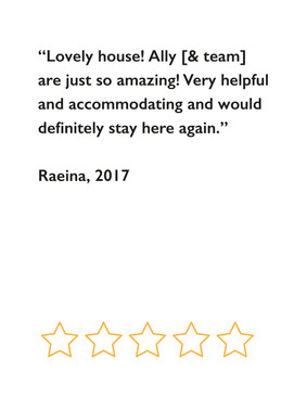 Raeina's review, 2017
