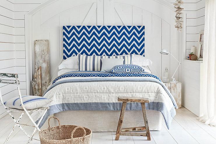 mIan Mankin Coast Bedroom Chevron Headbo