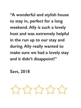 Savs review, 2018