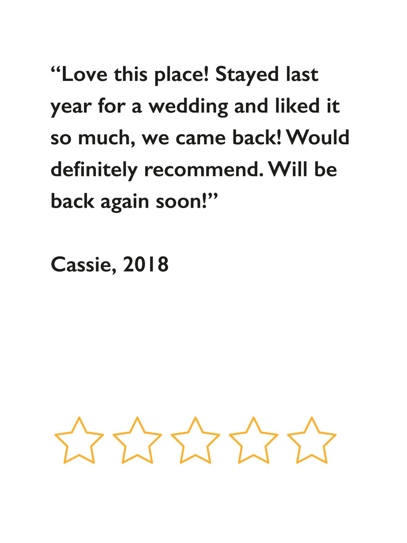 Cassie's review 2018