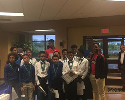 What a great time we had being the keynote speaker for these young men that are a part of a group ca