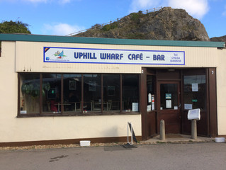 New Signage for Wharf Cafe-Bar!
