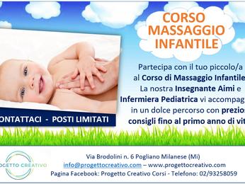 CORSO di MASSAGGIO INFANTILE