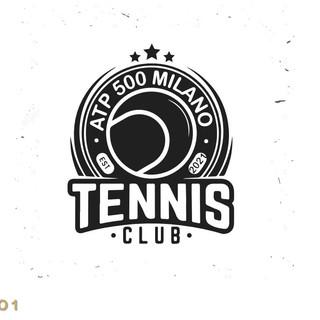 Ideazione logo competizione di Tennis Aziendale