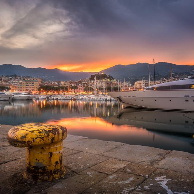 prístav v San Remo