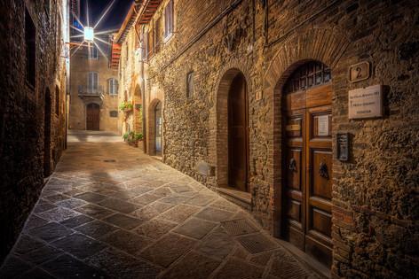 toskánske uličky