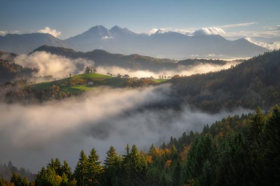 ranné prebúdzanie v Slovinsku