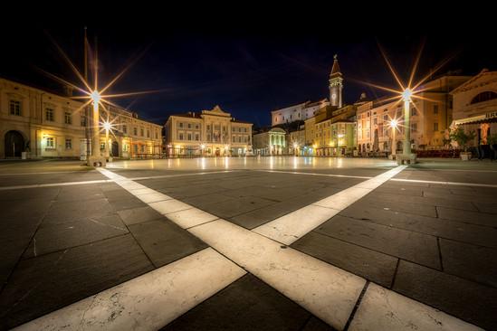 kruhové námestie v Pirane