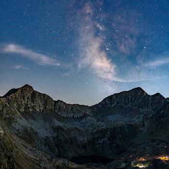 Milky Way nad Lacul Podragu