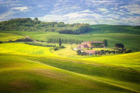 toskánske línie