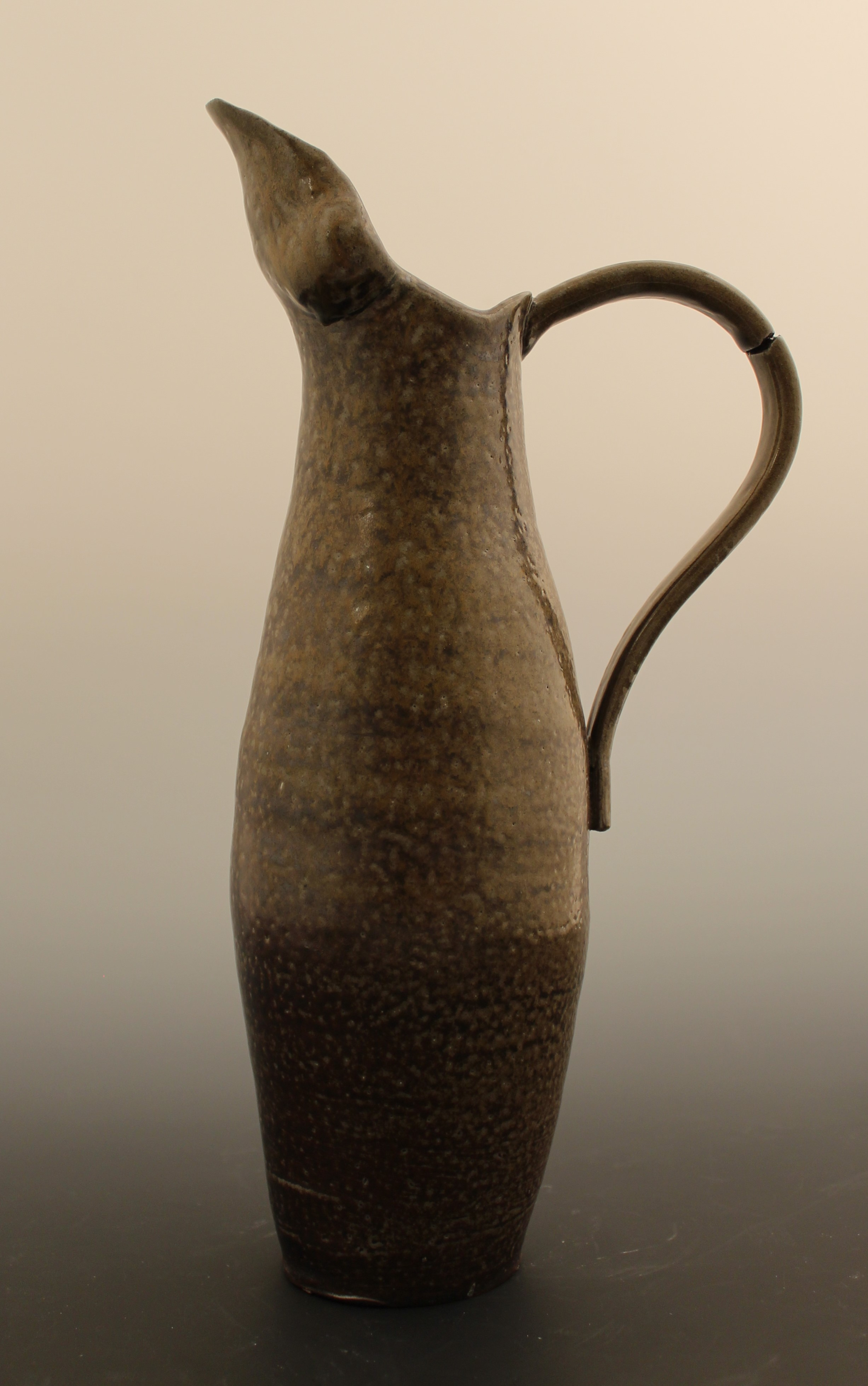 Stylized Figure Pitcher