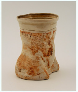 Body Pot Vase: Oxide