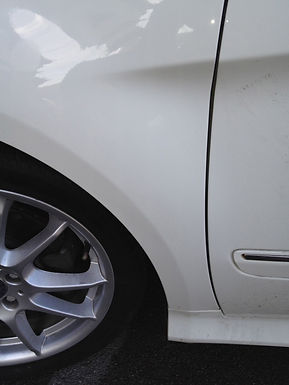 Paintless Dent Repair Finished