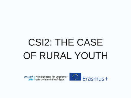 CSI2: THE CASE OF RURAL YOUTH