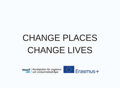 CHANGE PLACES HANGE LIVES