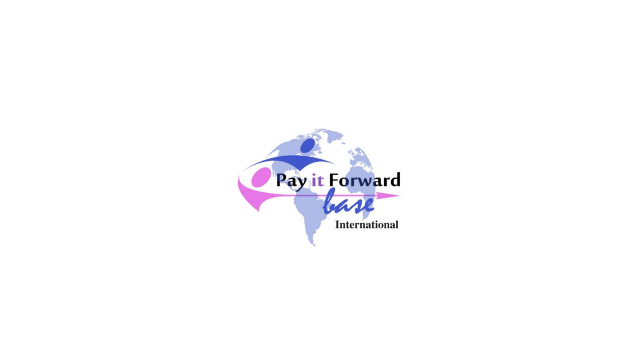 Pay it Forward - Be A Social Entrepreneu