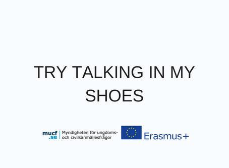 TRY TALKING IN MY SHOES