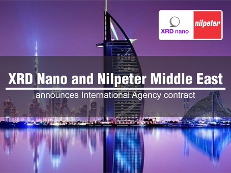 XRD  Nano and Nilpeter Middle East have signed an International Agency  contract