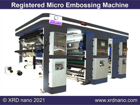 Registered Micro Embossing Machine