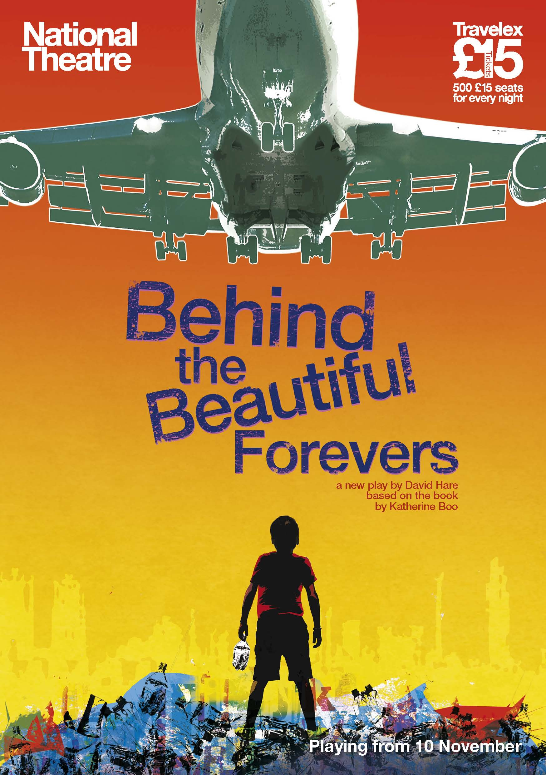 Behind The Beautiful Forevers.