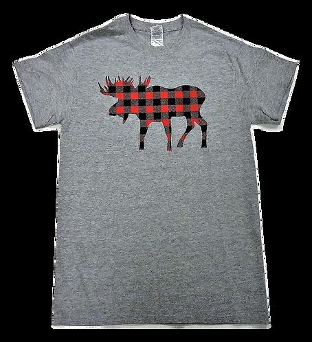 7101-Plaid Moose Red