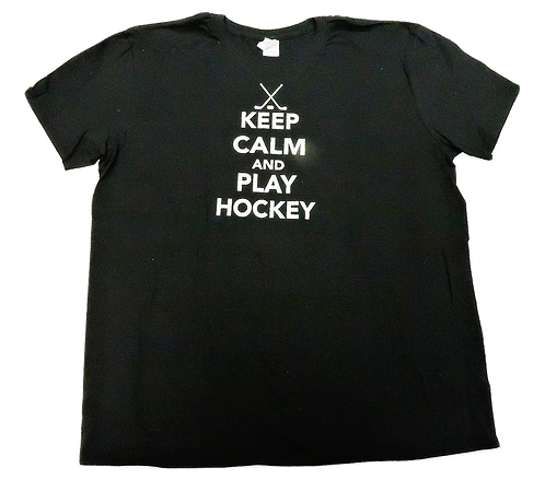 7101-Keep Calm Play Hockey